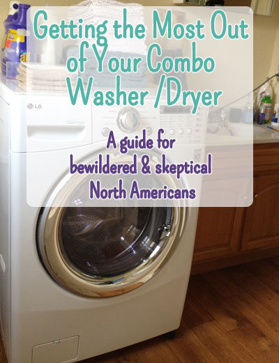 tips and tricks for combo washer